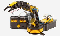 CIC 21-535N Wired Control Robot Arm Video Review