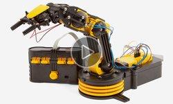 Відеоогляд конструктора CIC 21-535N Робот-маніпулятор на батарейках