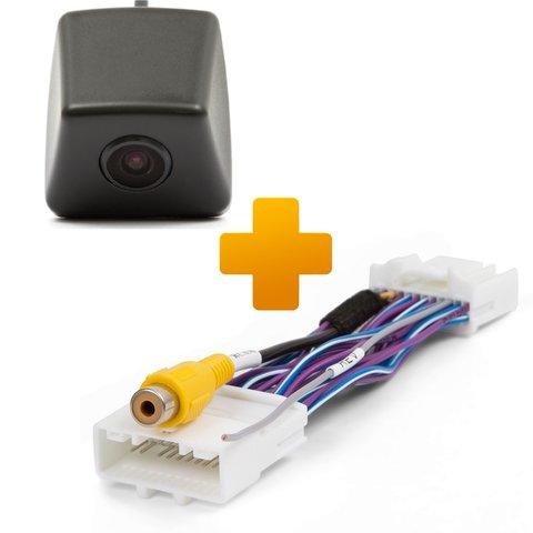 Камера заднего вида и кабель подключения для штатных мониторов Renault Dacia Opel