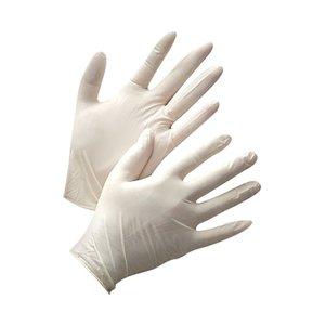 Латексные перчатки размер M, 100 шт. упаковка