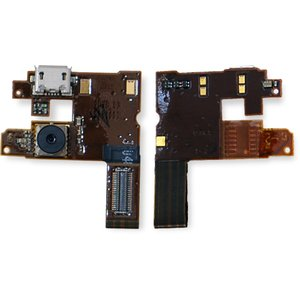 Flat Cable for Nokia 6500c Cell Phone, (speaker, charge connector, with components, with camera)