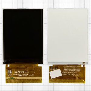 LCD for China-Nokia 6700, 6700TV, 6800, 6800TV Cell Phones, (39 pin, (55*41)) #T22NTB3929-FPC-B/YL9710MLA-B