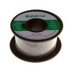 Solder BAKU BK-5005, (Sn 63% , Pb 35,1%, flux 1,9%, 0,5 mm, 50 g)
