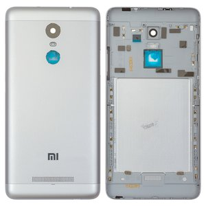 Battery Back Cover Xiaomi Redmi Note 3i Pro SE, (silver, black, Original (PRC), with side button)