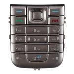 Teclado Nokia 6233, plateada, caracteres latinos