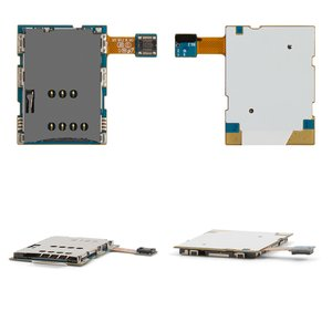 Conector de tarjeta SIM para tablet PC Samsung N8000 Galaxy Note, con cable flex