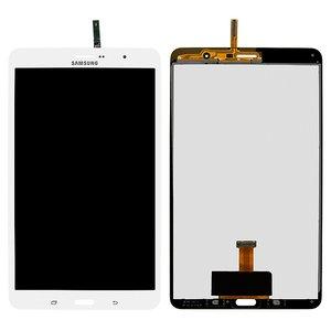 Pantalla LCD para tablet PC Samsung T321 Galaxy Tab Pro 8.4 3G, T325 Galaxy Tab Pro 8.4 LTE, versión 3G, blanco, con cristal táctil