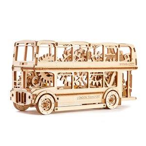 Механічний 3D-пазл Wooden.City Лондонський автобус