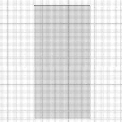 OCA плівка для Samsung J600F Galaxy J6, для приклеювання скла, 131 мм, 65 мм
