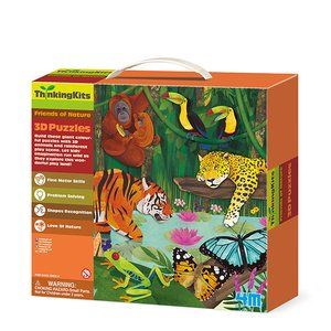 3D-пазл 4M Тропічний ліс 00-04678