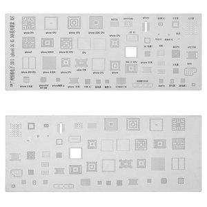 BGA Stencil K97 for Apple Cell Phones, (51 in 1)