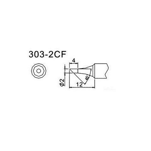 Soldering Tip Quick 303 2CF
